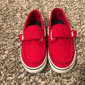 Boys Boat shoes size 3Y